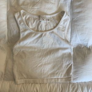 Nordstrom brand BP White Cropped Tank Top